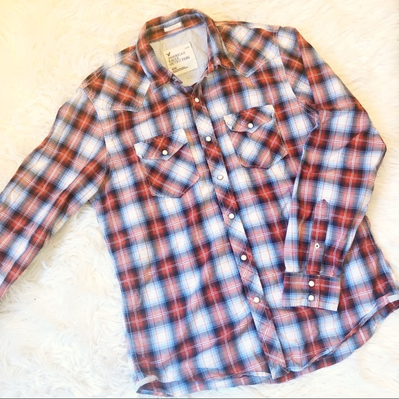 American Eagle Outfitters Other - Men's American Eagle casual button up top, sz med